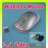 Геймъркса Безжична Мишка (различни цветове и модели) - USB Wireless Optical Mouse 2.4G 1600CPI