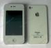 Apple iPhone 4 реплика F080+ WiFi TV БГ меню 3.3 инча 2 сим Бял