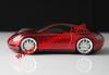 Тунинг Мишка кола 1200dpi Mouse Червена модел 2