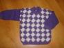 Топла плетена блузка,4год.