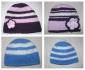 Плетени бебешки шапки и шалове