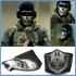 Стилна неопренова маска са зимни спортове, мотори, еърсофт и други. Тип Ghost
