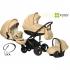 Zippy Pia 312 комбинирана бебешка количка 3в1 бежова