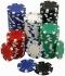 Покер чипове, комплекти за покер и аксесоари.