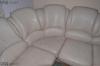 Холна гарнитура с диван от естествена кожа
