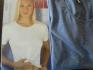 S синя памучна тениска къс ръкав дамски тениски женски блузи