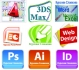 София: AutoCAD, 3D Studio Max Design, Adobe Photoshop, InDesign, Illustrator, CorelDraw, WebDesign