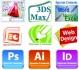 София: AutoCAD, 3D Studio Max Design, Adobe Photoshop, InDesign, Illustrator, CorelDraw, WebDesign