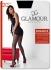 20DEN прозрачен черен чорапогащник с ръб Гламур Glamour