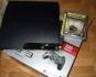 PS3 SLIM 320 Gb,  хакнат, гаранционен и много игри, Cfw 4.66, Плейстейшън, SONY PLAYSTATION 3