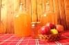 Истински домашен ябълков оцет приготвен с билков пчелен мед