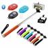 Телескопична пръчка за селфи ( стик ) Z07-1 + Bluetooth дистанционно