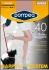 40DEN черен дамски коригиращ чорапогащник Помпея Pompea 40-75кг стягащи чорапогащници