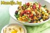 Здравословно вегетарианско меню - доставяме в София