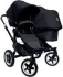 All New Bugaboo Donkey Duo, Twin - All Black baby strollers (Special Edition)+ Free Nappy bag