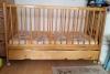 Детско дървено креватче Арбор 70/140 см с матрак, 85 лв.