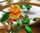 Сладка декорация, цветя от фондан – стилен подарък за гостите Ви!