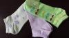 35-40 зелени,лилави дамски памучни чорапи до глезена Пентаграм къси чорапи от памук памучен...