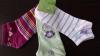 35-40 лилави,зелени,розови женски памучни чорапи за маратонки памучни къси чорапи до...