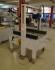 Автоматична машина за запечатване на кашони с тиксо - долно и страничн