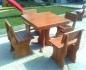 Дървени маси и столове по поръчка