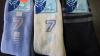 37-41 сиви,сини,шампанско дамски пухкави памучни чорапи над глезена Парагон плътни...
