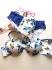 Jadea S сини памучни бикини с нормална талия дамско памучно бельо женска памучна бикина Жадея...