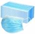 Трислойна медицинска маска (с ластик) от нетъкан текстил, за еднократна употреба